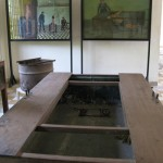 La « baignoire », instrument de torture dont Duch dit qu'il n'a jamais été informé de son utilisation à S21. (Anne-Laure Porée)