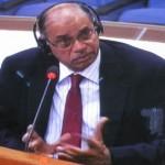 Nayan Chanda, né en Inde en 1946, a obtenu une bourse pour faire sa thèse en France en 1971, sur la politique étrangère du Cambodge sous Sihanouk. (Anne-Laure Porée)