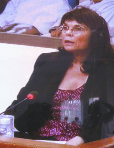 Martine Lefeuvre a posé avec force la voix des parties civiles. (Anne-Laure Porée)