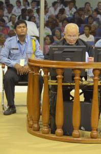 Nuon Chea en audience le 13 décembre 2011. (CETC)