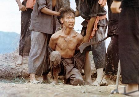 Haing Ngor dans le rôle de Dith Pran dans La déchirure de Roland Joffé. (Warner Brothers)
