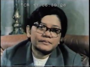 Ieng Thirith dans Kampuchea mort et renaissance. (DR)